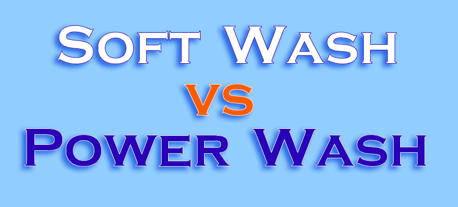 Soft Wash Vs Pressure Wash Seminole Power Wash